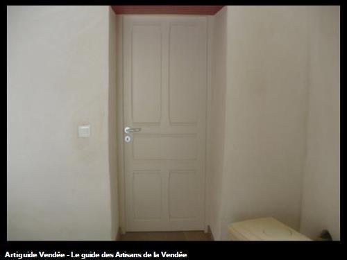 fabrication porte intérieure