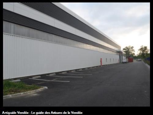 Bardages, Entreprise Jallais - 44980 Ste-Luce-sur-Loire, après nettoyage.