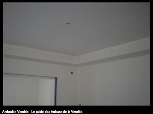 Décaissonnet de plafond. Pavillon Challans
