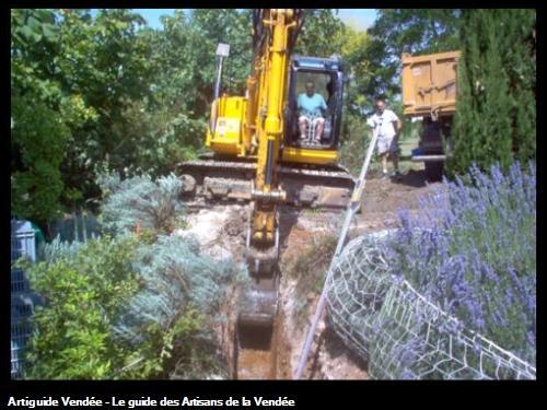 Terrassement en site paysagé