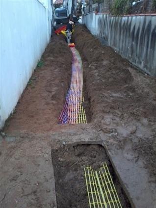 Pose gaz electricté eau par l'entreprise JMRTP 85 440 Talmont Saint Hilaire