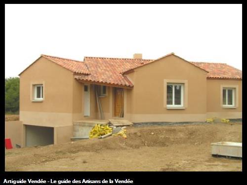 Maison neuve avec sous sol à La Bretonnière sur les secteur Luçon.