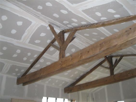 doublage plafond en plaque de platre