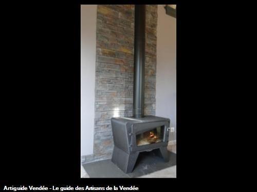 Installation de poële à bois (Godin, Invicta, Deville...)