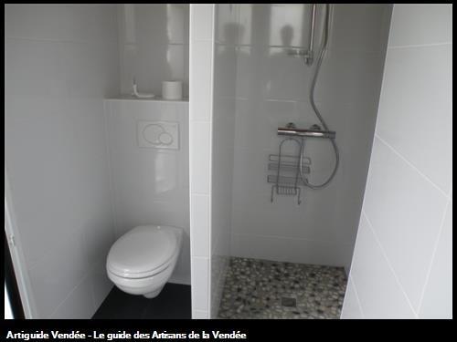 réalisation d'une salle de bain sur saint gilles croix de vie