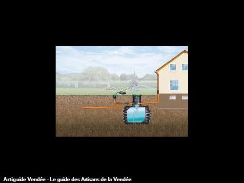 récupérateur d'eau les Sables  d'Olonne 85100