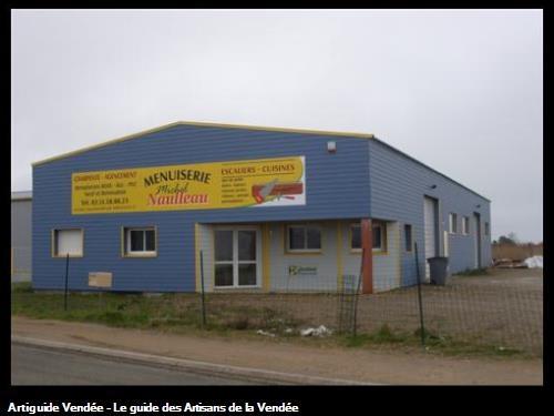 Menuiserie NAULLEAU Michel, NOTRE-DAME-DE-MONTS, Vendée 85.