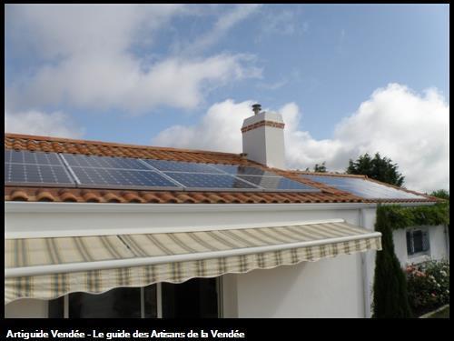fourniture et pose de photovoltaique